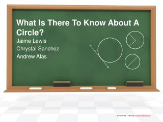 What Is There To Know About A Circle?
