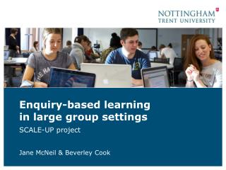 Enquiry-based learning  in  large group  settings