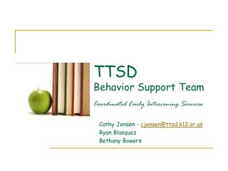 TTSD  Behavior Support Team