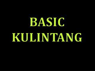 BASIC  KULINTANG