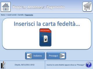 Home > I nostri servizi > Carrello >  Pagamento