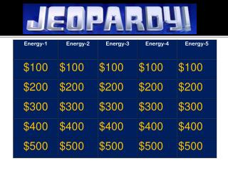 Jeopardy Think Music