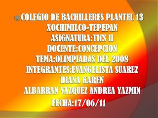 JUEGOS OLIMPICOS EN PEKIN 2008