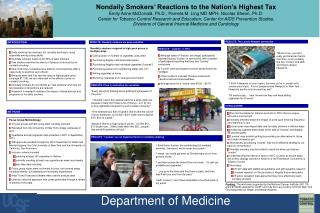 Daily smoking has declined, but nondaily smoking is  rising  especially among young adults
