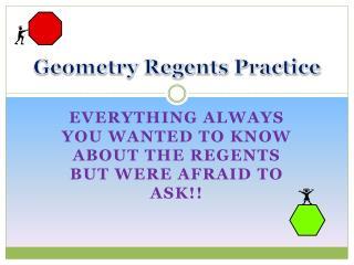 Geometry Regents Practice