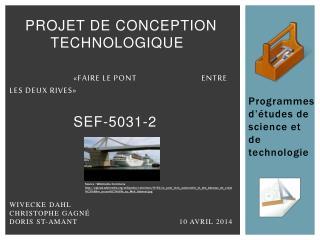 Programmes d'études de science et de technologie
