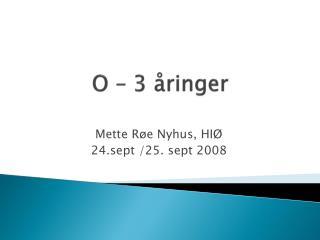 O � 3 �ringer