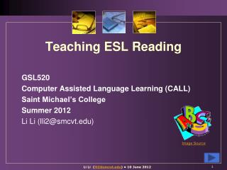 Teaching  ESL Reading