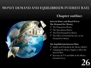 Money demand and equilibrium interest  rate