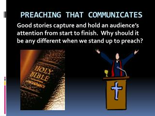 PREACHING THAT COMMUNICATES