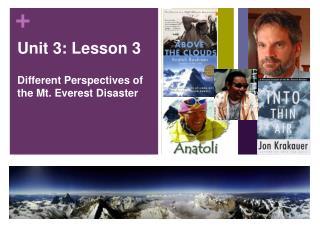 Unit 3: Lesson 3