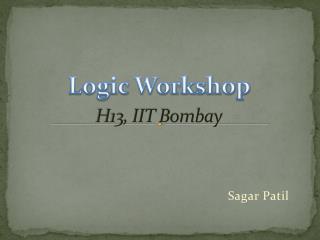 H13, IIT Bombay