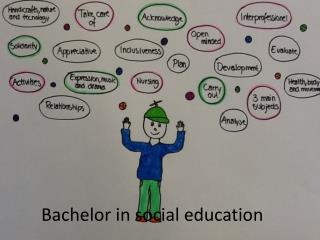 Bachelor in social  education