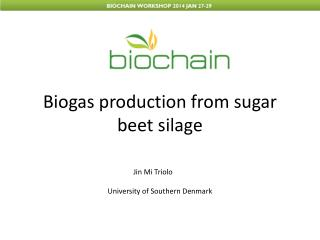 Biogas production from sugar beet silage