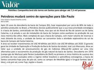 Petróleo: Companhia terá três torres em Santos para abrigar até 7,5 mil pessoas