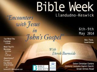 Encounters with  J esus in John's Gospel: