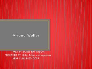 Ariana Wetter