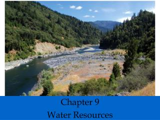 Chapter 9 Water Resources