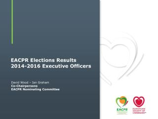 EACPR Elections  Results 2014-2016  Executive Officers