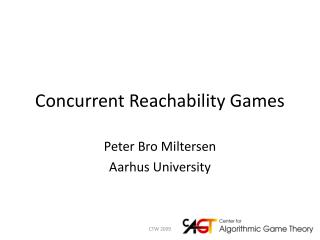 Concurrent Reachability  Games