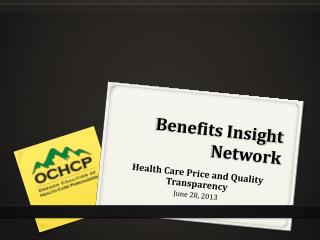 Benefits Insight Network