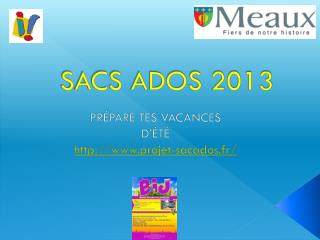 SACS ADOS 2013