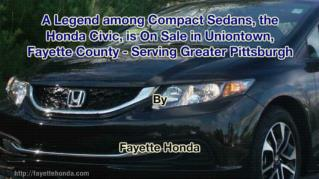 ppt 41972 A Legend among Compact Sedans the Honda Civic is On Sale in Uniontown Fayette County Serving Greater Pittsburg