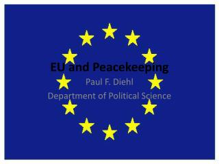 EU and Peacekeeping