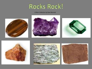 A Rock Collection by Ryan Bennett