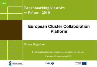 Benchmarking klastrów w Polsce - 2010