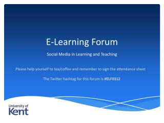 E-Learning Forum