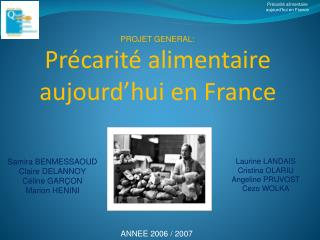 Pr carit  alimentaire aujourd hui en France