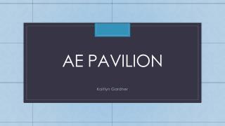Ae Pavilion
