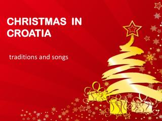 CHRISTMAS  IN  CROATIA
