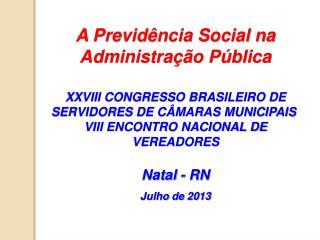 A Previdência Social na Administração Pública