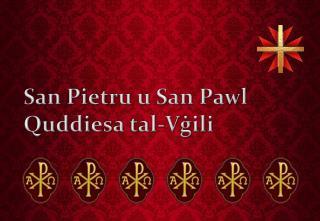 San Pietru u San Pawl Quddiesa tal-Vġili