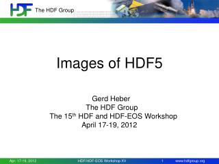 Images of HDF5