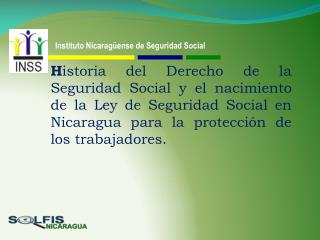 Instituto Nicaragüense de Seguridad Social