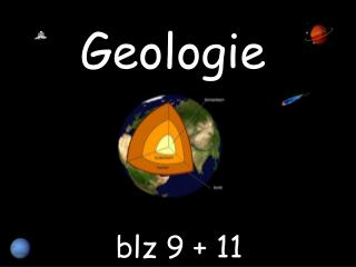 Geologie  blz  9 + 11