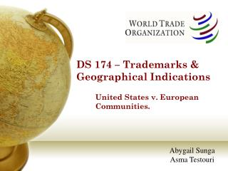 DS 174   Trademarks  Geographical Indications
