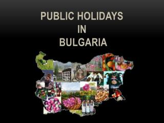 Public holidays  in Bulgaria