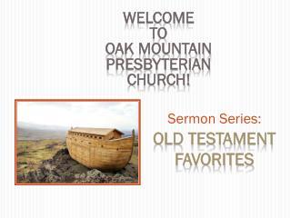 Sermon Series:
