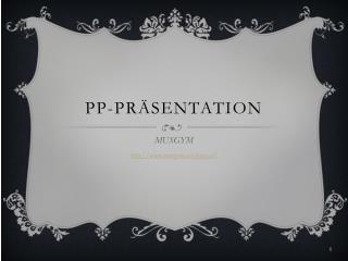 PP-Pr�sentation