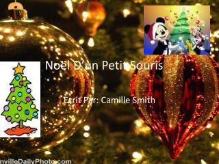 No�l D�un Petit  S ouris
