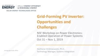 U.S. Department of Energy  Sandia National Laboratories