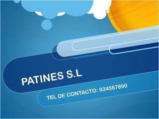 PATINES S.L