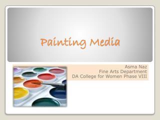 Painting Media