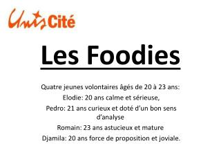 Les  Foodies