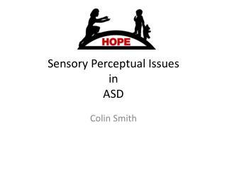 Sensory Perceptual Issues in ASD