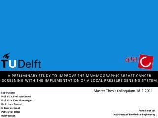 Master  Thesis Colloquium 18-2-2011